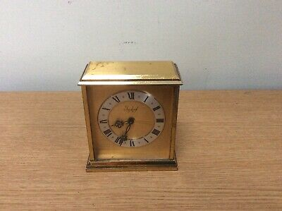 Antique Imhof Small Brass Carriage Clock Swiss Movement
