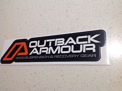 4x4 4WD RECOVERY KIT WINCH GENUINE STICKER BIG SIZE, FORD HOLDEN TOYOTA Armour