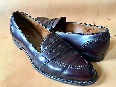 7c1add60aa5aef ALDEN 684 SHELL Cordovan Full Strap Loafer Shoe Sz 11 C -  139.99 ...