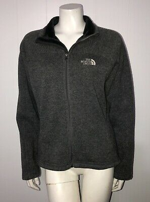 The North Face Charcoal Gray Knit Sweater Jacket! M