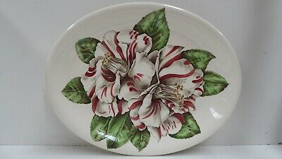 Johnson Bros. Pottery Ceramic Plate Platter Camellia  Made In England