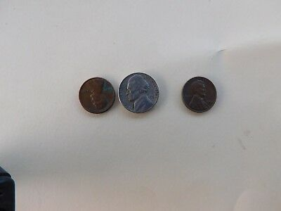 Coins.us.lot.of.3..1962..#684