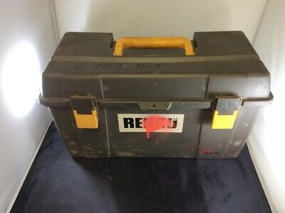 Rehau Everloc Padded Travel Plastic Case Toolbox Tool Box