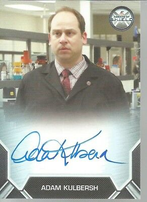 Rittenhouse Marvel Agents Of Shield Adam Kulbersh Autograph Card