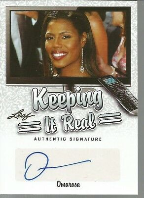 Leaf Keeping It Real Omarosa   Autograph