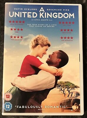 A United Kingdom Dvd 2017 (Rosamund Pike) As Good As New Mint Free Post