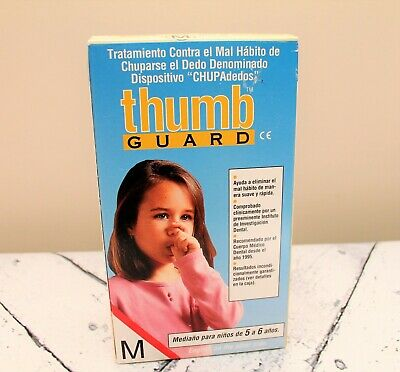 New Thumb-Sucking Treatment Kit Thumb T-Guard Sz Medium 5-6 Years Old