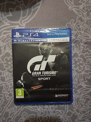 Gran turismo sport plus edition ps4 precintado