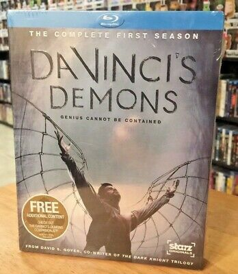 Da Vincis Demons Season 1  (Blu-ray Disc, 2013, 3-Disc Set) New & Factory Sealed