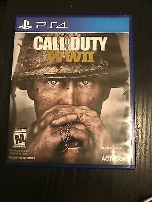 Call of Duty: WWII, Activision, PlayStation 4, PRE-OWNED PS4