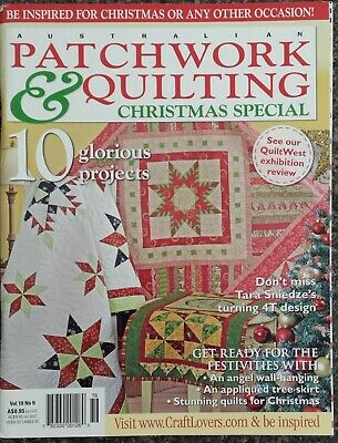 Patchwork & Quilting Magazine Vol.19 No.9 Christmas Special Sewing Quilts Runner