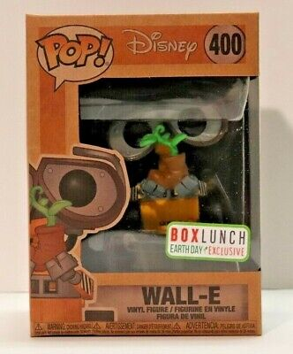 Funko POP! Earth Day Wall-E #400 Box Lunch Exclusive Disney Earth Day Exclusive