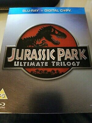 Jurassic Park: Trilogy 3-disc Blu-ray Collection (2011) UK import