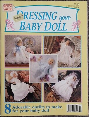 Dressing Your Baby Doll Book 8 Adorable Outfits To Make For Your Baby Doll