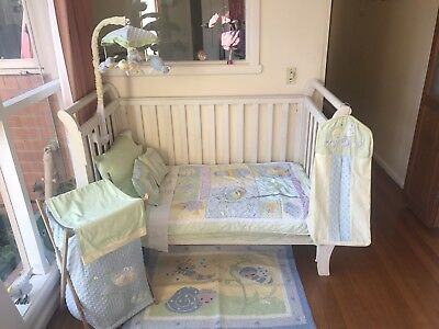 Kids Line Bed Bugs Baby Cot/Nursery Set