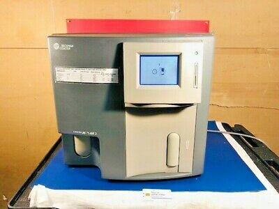 BECKMAN COULTER AC-T Diff 2 Hematology Blood Analyzer W probes/Manual etc  (9048)