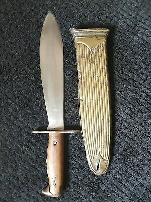 WWI US Army Model 1917 Bolo Machete Incl. 1918 Scabbard