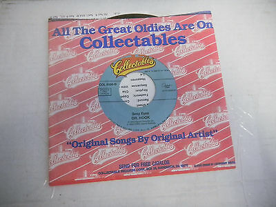 DR HOOK & MEDICINE SHOW sexy eyes/sharing the night together NEW collectables 45