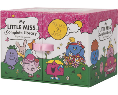 BRAND NEW My Little Miss Complete Library Set 35 Books Entire Collection Box Set