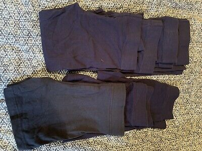 Navy Girls School Leggings Size 7
