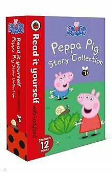 NEW Peppa Pig Story Collection Read It Yourself Ladybird 12 Books Early Readers!