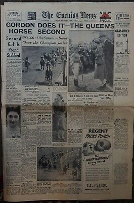 Historical Royal  Coronation Newspapers Queen Elizabeth II (Full week)