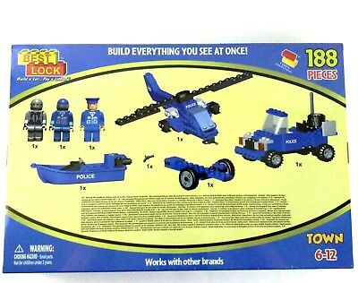 BEST LOCK CONSTRUCTION Toys - Military 120 piece set - Lego comp
