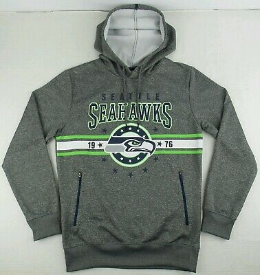 Wholesale SEATTLE SEAHAWKS MEN'S Small Vintage Logo Throwback Hoodie NFL Off  free shipping