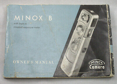 MINOX B Owners Manual / Instruction Booklet