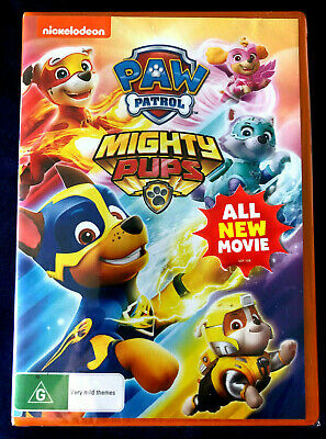 Paw Patrol Mighty Pups DVD - Brand New & Sealed