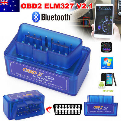 ELM327 OBDII OBD2 Bluetooth Car Scanner CAN BUS Torque Android Auto Scan Tool GM