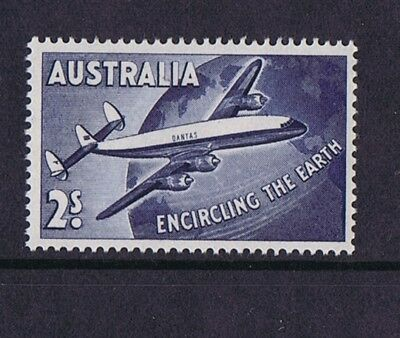 Australian Pre-Decimal Stamps 1958 2/- Qantas 'Round the World'  MNH SPECIAL!!