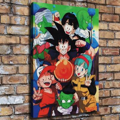 "16""x22""Dragon Ball HD Canvas prints Painting Home Decor Picture Room Wall art"