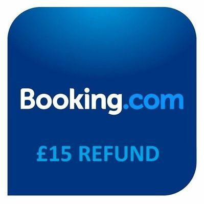 Booking.com £15 Back Promotional Booking Link Coupon Receive Money After Stay