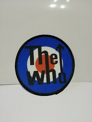 Quadrophenia scooter  sew on printed badge 100mm wide patch mod overlocked edge