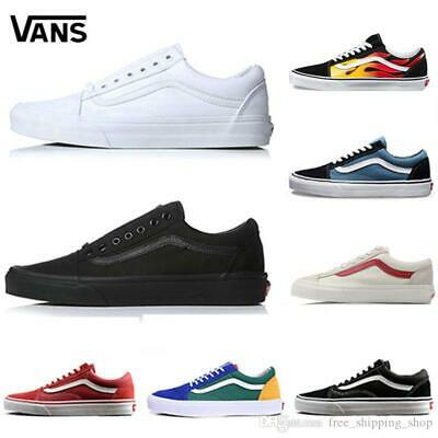 Vans Old Skool Shoes New Black Mens Us Sizes - Free Postage - New Fear Of God