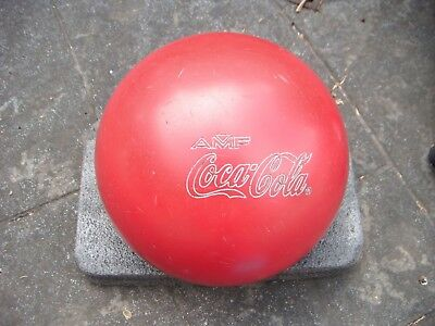 Vintage Coke Coca-Cola Amf Bowling Ball Made In Usa 3078