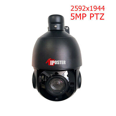 5MP PTZ IP Camera H.265 Outdoor HD 2592x1944 Pan/Tilt 30X Speed Dome Camera
