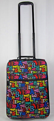 5f27ab1116 Vera Bradley From A To Vera Rolling Suitcase Carry On Luggage 18