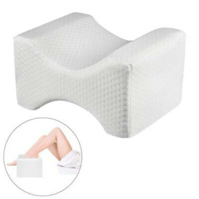 1x Contour Memory Foam Leg Pillow Orthopaedic Firm Back Hips & Knee Support Sale