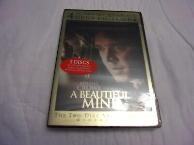 A Beautiful Mind The Two Disc Awards Edition New & Sealed DVDs