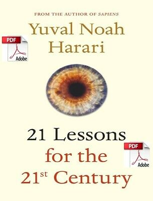 21 Lessons For The 21st Century  **eBook/PDF Instant Delivery**
