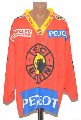 Bern Switzerland Signed Ice Hockey Shirt Jersey Interhockey Size Xl Adult