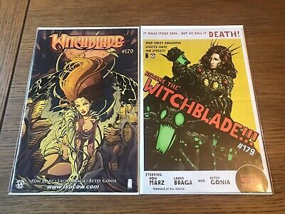 Witchblade # 179 Cover A & B Variants NM 1st Print Image Comics