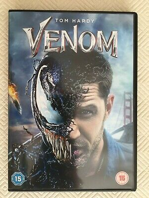 Venom - DVD - Watched Once - Tom Hardy - Marvel Spiderman Michelle Williams Stan