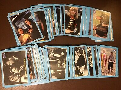 DOCTOR WHO DEFINITIVE Series 1 120 CARD BASE SET , NM cards, Strictly Ink 2000