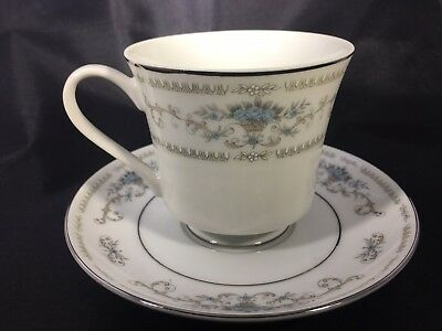 Wade Fine Porcelain China 'diane' Cup And Saucer Vintage Replacement