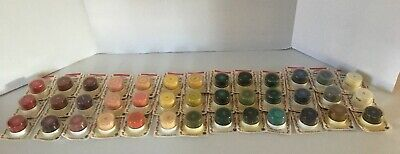 Lot of 39 New Delta Oil Based Stencil Paint Creme - .5 oz Various Colors ~ NIP