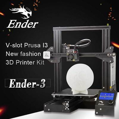Creality Ender 3 3D Printer Aluminum DIY with Resume Print 220x220x250mm