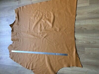 Top Quality Genuine Leather Cow 1.2mm Biscuit Whole Hide Upholstery 26sqft